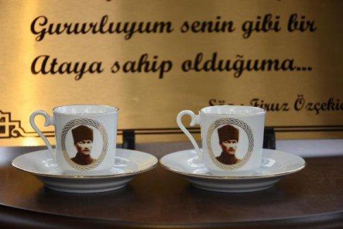 Atatürk İle Kahve İçme Hayali Gerçeğe Dönüştürdü