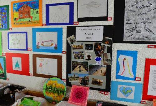 Çocuklar, Sığınmacıların Psikolojisini Resimle Anlattı