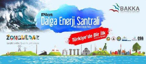 Denizde Dalga Enerjisinden Elektrik Üretilecek