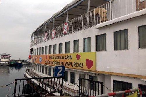 Mağaza Gemi'ye Avcalar'da İzin Yok
