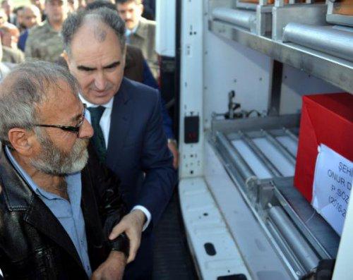 Şehit Er Onur Deniz, Andırın'da Toprağa Verildi