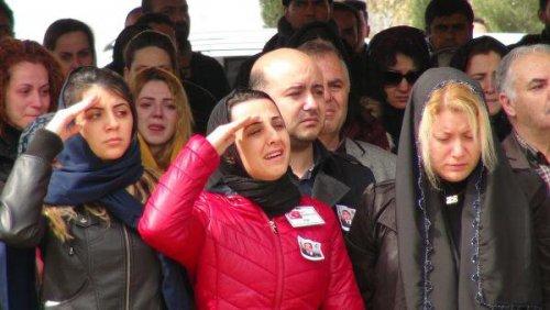 Şehit Yüzbaşı Halil Özdemir Törenle Uğurlandı