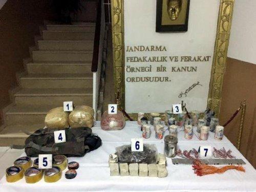 Şırnak'ta Terör Örgütü Pkk'nın Bombaları Bulundu